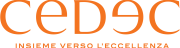 CEDEC logo ARANCIO